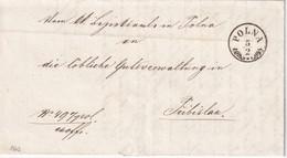 TCHECOSLOVAQUIE  1862 LETTRE DE POLNA - Tchécoslovaquie