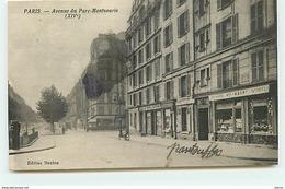 PARIS XIV - Avenue Du Parc Montsouris - Boulangerie Imbert - District 14