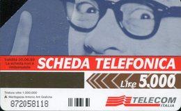 """Scheda Telefonica """"Avete Tanto Da Dire?"""" - Scadenza 30/06/1999 (usata) - Pubbliche Figurate Ordinarie"""