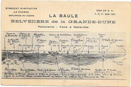 LA BAULE : BELVEDERE DE LA GRANDE DUNE - La Baule-Escoublac