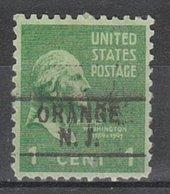 USA Precancel Vorausentwertung Preo, Locals New Jersey, Orange 745 - Vereinigte Staaten