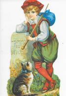 CHROMO Découpi ( Format = 9cm X 17cm ) - Children