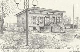 D  31  GAGNAC  Sur Garonne  La Mairie           (  Ducourtioux  ) - Andere Gemeenten