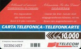 """Scheda Telefonica Alto Adige """"Trasferimento Di Chiamata"""" - Scadenza 31/12/1996 (usata) - Pubbliche Figurate Ordinarie"""