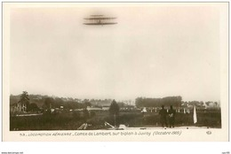 AVIONS.n°28257.LOCOMOTION AERIENNE.COMTE DE LAMBERT SUR BIPLAN A JUVISY.1909 - ....-1914: Precursori
