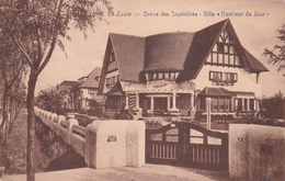 """CPA Le Zoute - Drève Des Sapinières - Villa """"Bonheur Du Jour"""" - STAR - Knokke"""