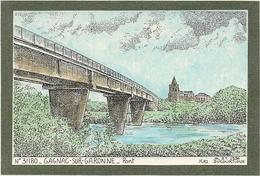 D  31  GAGNAC  Sur Garonne    Pont     (  Ducourtioux  ) - Andere Gemeenten