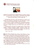 Bollettini Emissione Francobolli Celebrativi Del 1981 -  22  Bollettini Annata Completa - 1946-.. République