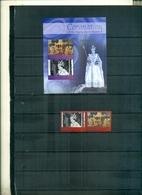 S.LUCIA 50 INCORONATION ELISABETH 2 VAL + BF NEUFS A PARTIR DE 1 EURO - St.Lucie (1979-...)