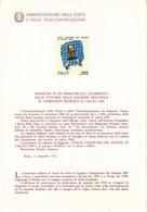 Bollettini Emissione Francobolli Celebrativi Del 1982 -  19  Bollettini Annata Completa - 1946-.. République