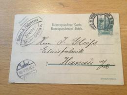K8 Österreich Ganzsache Stationery Entier Postal P 153 Von Mährisch-Ostrau Nach Hanau - Stamped Stationery
