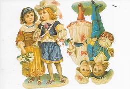 CHROMO Découpi ( Format = 11cm X 12cm ) - Children