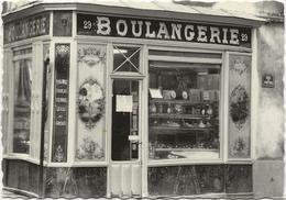 D  75  PARIS  PHOTO  CARTE   BOULANGERIE   29 RUE DU POITOU, 15 RUE SAINTONGE  Format  10/15 - Arrondissement: 03