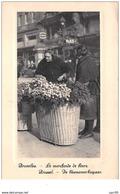 Belgique . N° 46364 . Bruxelles . La Marchande De Fleurs.chocolat Martougin - Marchés
