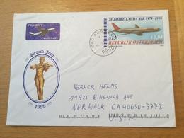 K8 Österreich Ganzsache Stationery Entier Postal 20 Jahre Lauda Air - Entiers Postaux