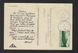 CARTE MEDICALE * MARINOL* LA MARTINIQUE * 1948 *   2 SCANS - Martinique (1886-1947)