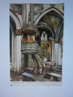 Suisse. Fribourg, Intérieur De La Collégiale Saint Nicolas (8602) - FR Fribourg