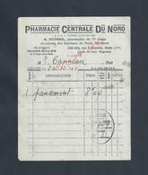 PETITE FACTURE DE 1941 A DUTHEIL PHARMACIE PARIS RUE LAFAYETTE : - 1900 – 1949