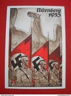 """Propaganda-Karte """"Reichsparteitag Der NSDAP In Nürnberg"""" Gelaufen 1935 - Germany"""
