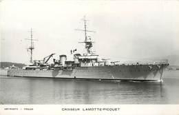 """BATEAU DE GUERRE -Croiseur """"Lamotte-Piquet"""" ,Art Photo Toulon - Krieg"""