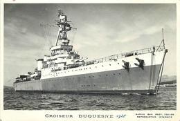 """BATEAU DE GUERRE -Croiseur """"Duquesne"""" ,photo Format 13x9cm, - Krieg"""