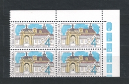 Czech Republic 1993 MNH ** Mi 7 Sc 2883 UNESCO Brevnov Monastery. Kloster. Tschechische Republik. Block Of Four. C2 - Czech Republic