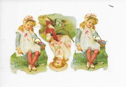 CHROMO Découpi ( Format = 12cm X 8cm ) - Children