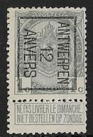 Antwerpen  1912  Typo Nr. 20B - Precancels