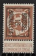 Brussel 1913  Typo Nr. 41B - Precancels