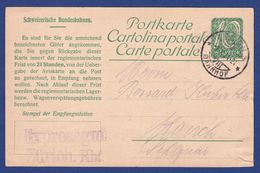 SBB Postkarte (br8772) - Chemins De Fer