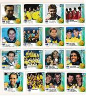 Australia 2000 Sydney Olympic Games - Australian Gold Medal Winners 16 Stamps MNH/** (H26) - Sommer 2000: Sydney