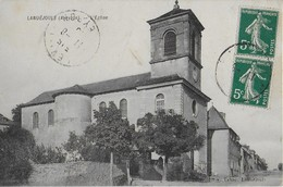 LANUEJOULs (Aveyron ) :L'Eglise (1911) - Frankreich