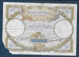 France - Billet 50 Fr  L.O. Merson Du 12 - 11 - 1931 - 1871-1952 Gedurende De XXste In Omloop