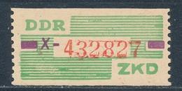 DDR Dienstmarken B 24 ** Kennbuchstabe X Geprüft Weigelt Mi. 10,- - Oficial