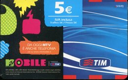 Carta Prepagata TIM - Validità 11/2010 - Italia