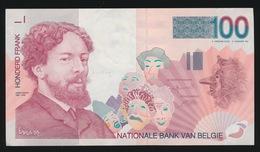 BILJET VAN 100 FRANK   MOOIE STAAT  2 AFBEELDINGEN - [ 6] Treasury