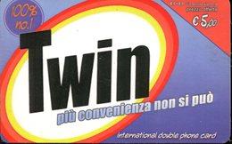 Carta Prepagata Twin - Validità 12/2005 - Italia