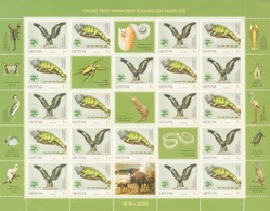 Lituania 2004 **  Correo Yvert Nº  743/44 MH Museo Zoología / Fauna  - MH ( 20 - Lituania