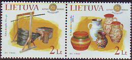 Lituania 2011 **  Correo Yvert Nº  927/28 Objetos De Museo Etnográfico  ( 2 Val - Lituanie