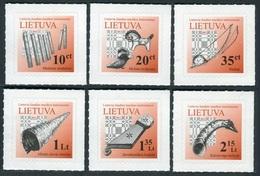Lituania 2012 **  Correo Yvert Nº  946/51 S. Básica / Instrumentos Musc. (Autoa - Lituanie