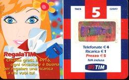 Carta Prepagata TIM - Validità 03/2007 - Italia