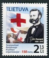 Lituania 2013 **  Correo Yvert Nº  986 150 Aniv. Cruz Roja - Lituanie