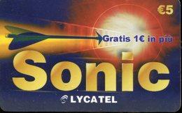 Carta Prepagata Sonic - Italia