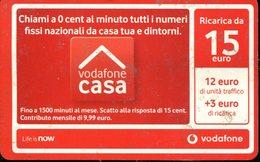 Carta Prepagata Vodafone Casa - Italia