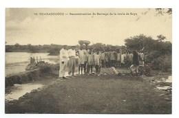 "AFRIQUE - BURKINA FASSO - HAUTE VOLTA - OUAGADOUGOU - ""Reconstruction Du Barrage De La Route Du Caya"" - CPA - Burkina Faso"