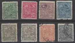 Cuba  U 166/173 (o) Usado. 1914 - Cuba