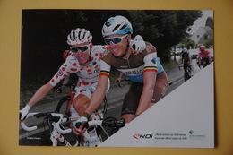 CYCLISME: CYCLISTE : ROMAIN BARDET ET OLIVIER NAESSEN Par EKOI - Cyclisme