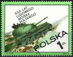 Poland 1973 - Mi 2275 - YT 2115 ( Tank ) - 1944-.... République