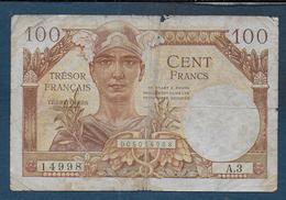 Trésor Français - 100 Francs - Schatkamer