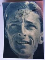 Ferdi KUBLER - Signé / Hand Signed / Dédicace Authentique / Autographe - Cyclisme